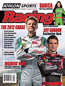 Dale Earnhardt, Jr. unsigned 2012 Athlon Sports NASCAR Racing Preview Magazine by Athlon Sports Collectibles