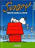 Snoopy reste dans la note