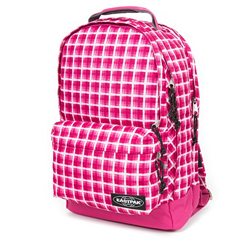Eastpak yoffa - Zaino, 47 cm, 26 litri, Charged Check Fuchsia (Multicolore) - EK03A73J