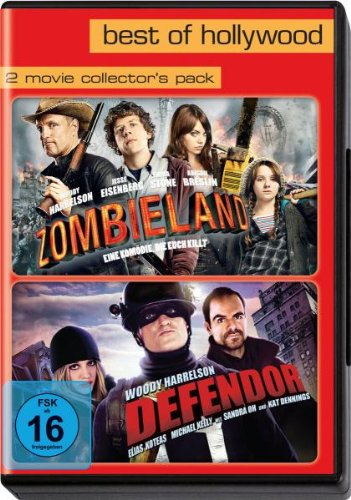 Best of Hollywood 2012 - 2 Movie Collector's - Pack 122 (Zombieland Defendor) [2 DVDs]