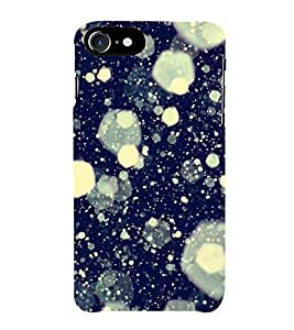 Fiobs Glass Break Space Look Phone Back Case Cover for Apple iPhone 7 Plus (5.5 Inches)