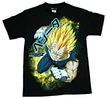 Dragonball Z Anime Super Saiyan Vegeta T-Shirt