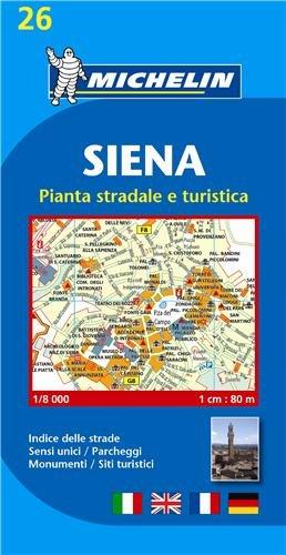 Plan Michelin Sienne