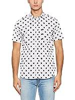 Love Moschino Camisa Hombre (Blanco / Negro)