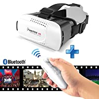 Insten Adjustable 3D VR Virtual Reality Headset With Wireless Remote Controller from eForCity