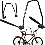 Best Bike Wall Mounts - 2 BIKE WALL MOUNTED BICYCLE HANGER CYCLE STORAGE Review