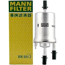 MANN-FILTER WK 69/2 Fuel Filter for Car