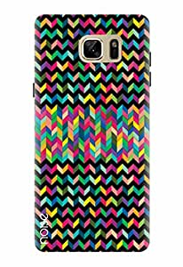 Noise Designer Printed Case / Cover for Samsung Galaxy Note7 / Patterns & Ethnic / Aztec Black Design