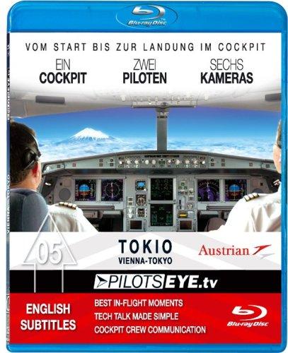 PilotsEYEtv Vienna TOKYO Blu ray Disc® Cockpit flight Austrian Airlines Boeing 777 200ER Bonus Toky PDF