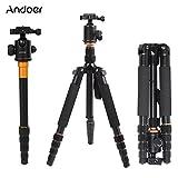 Andoer® Q-666 Pro SLR Kamera-Stativ Einbeinstativ Kugelkopf Changeable Tragbare Compact