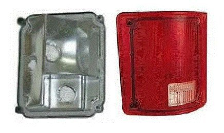 73 - 87 Chevrolet GMC Truck Driver Taillight Taillamp No Trim Lens and Housing 73-91 Blazer Jimmy Suburban (73 Chevy Truck Taillights compare prices)