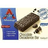 Atkins Advantage Chocolate Decadence Bars Pack of 16