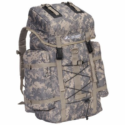 Everest Digital Camo Hiking Backpack, Digital