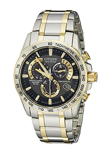 Citizen Men's AT4004-52E Perpetual Chrono A-T Two-Tone Stainless Steel Watch
