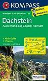 Dachstein - Ausseerland - Bad Goisern - Hallstatt: Wanderkarte mit Aktiv Guide, Skitouren und Radrouten. GPS-genau. 1:50000