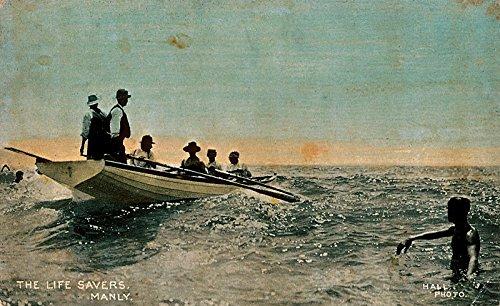 poster-life-savers-manly-australia-maritime-australian-national