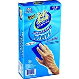 Lehigh Spontex 76196 One Use Vinyl Disposable Gloves
