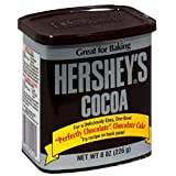 Hershey's Cocoa, Natural Unsweetened, 8-Ounce Cans (Pack of 6)
