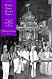 img - for Public Faces, Private Voices: Community and Individuality in South India by Mattison Mines (1994-12-19) book / textbook / text book