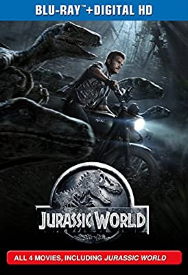 Jurassic Park Collection Blu-Ray - All 4 Movies, Including Jurassic World (Blu-ray 3D + Blu-ray + Digital HD)