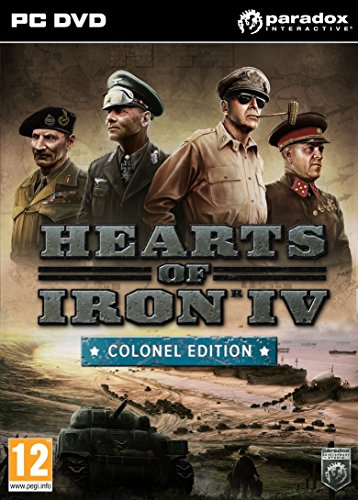 Hearts of Iron 4: Colonel Edition  (PC)