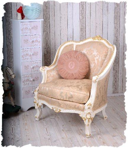 vintage sessel barocke bergere creme gold barocker ohrensessel nur 34999eur wien