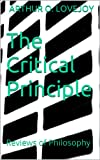 The Critical Principle: Reviews of Philosophy