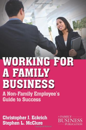 Working for a Family Business: A Non-Family Employee's
