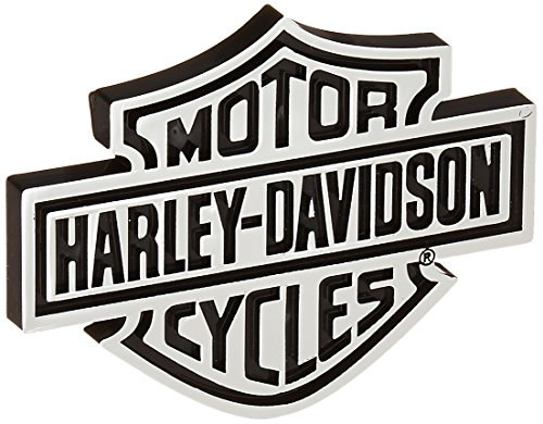 Chroma 9107 Harley-Davidson Injection Molded Emblem Decal (Chrome Harley Decal compare prices)