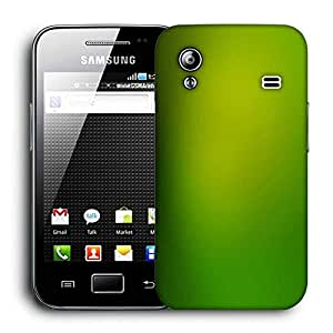Snoogg Leavy Green Design Printed Protective Phone Back Case Cover For Samsung Galaxy ACE S5830