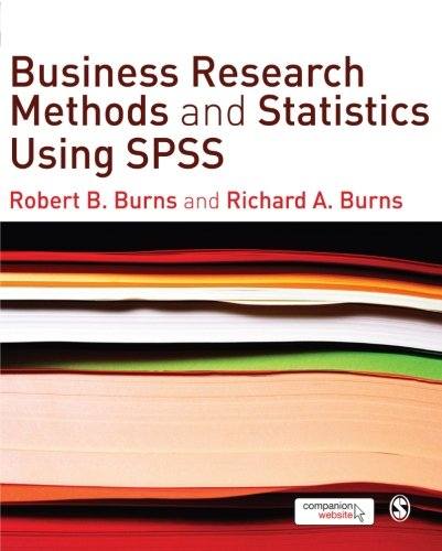 PDF⋙ Business Research Methods and Statistics Using SPSS by