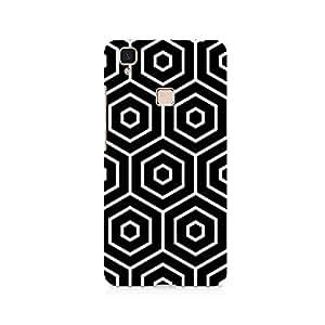 TAZindia Designer Printed Hard Back Case Cover For Vivo V3 Max