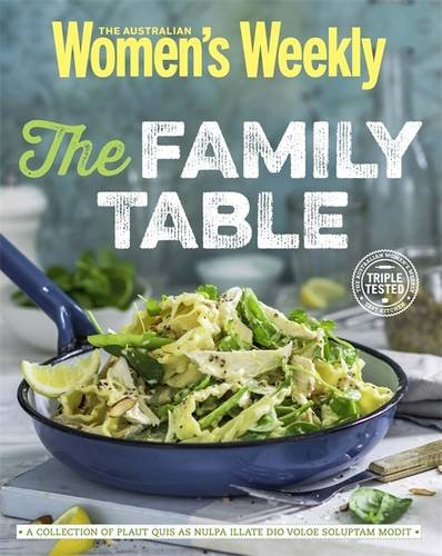 Family Table (The Australian Women's Weekly)