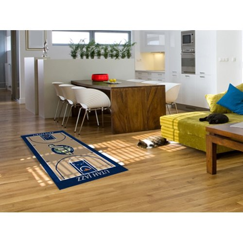 Utah Jazz 29.5x54 Nba Large Court Runner NBA Large Court Runner Carpet Rug Mat by Fanmats