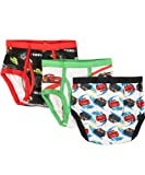 Disney Cars Checkered Flag 3-Pack Boys Briefs