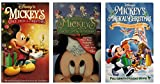 Mickeys Once Upon A Christmas, Mickeys Twice Upon A Christmas, Mickeys Magical Christmas VHS