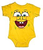 Nickelodeon Sponge Bob Square Pants Baby Romper - Yellow
