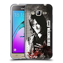 Official AMC The Walking Dead Wounded Hand Gore Soft Gel Case for Samsung Galaxy J3
