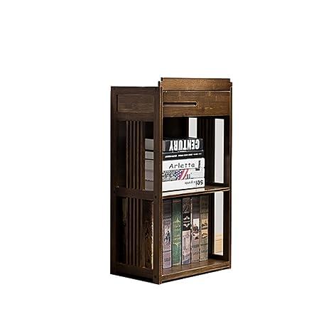 FEIFEI Libreria scaffale per scaffali da appoggio a 2 strati in bambù art ( dimensioni : 70*28*78.5CM )