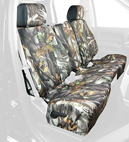 Saddleman Front Custom Fit Seat Cover for Select Chevrolet Silverado 1500 Models - Camo Fabric (Camouflage) (S 289770-30) (Custom Fit Seat Covers Camo compare prices)