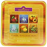 Bentley's Finest Tea Classic Collection, 120-Count Tea Bag in Assorted Tins (Pack of 2) ~ Bentley's