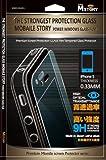 「iphone5/5s/5c専用」超薄膜強化ガラス液晶保護-ガラス厚み 0.33mm の中古画像