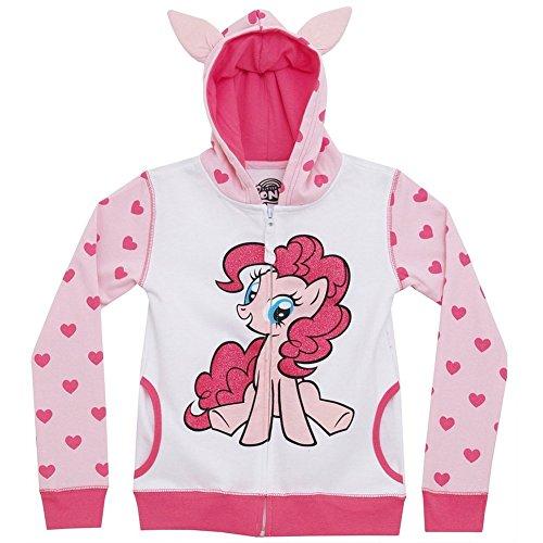 My Little Pony Pinkie Pie Girls Youth Zip Up Costume Hoodie Hooded Sweatshirt (Hoodie Pinkie Pie compare prices)