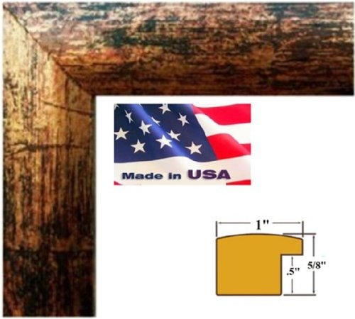24x36-Custom-Bronze-Finish-Picture-Poster-Photo-frame-Wood-Composite-Mdf-One-inch-wide-Moulding