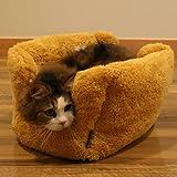 【New】ドギーマン ふわふわスウィーツベッドワッフル 【猫ちゃんの体にフィットして安心感たっぷり!】