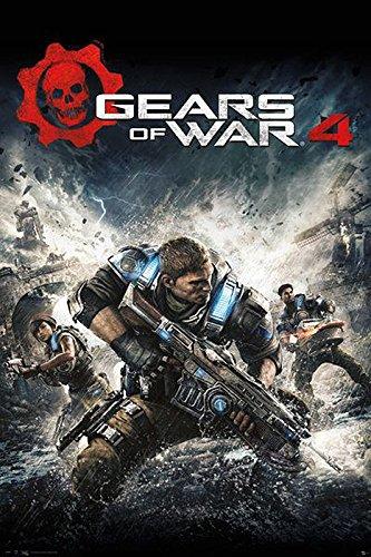 Poster Gears of War 4 - Cover del gioco (61cm x 91,5cm)