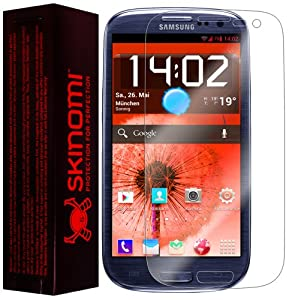 Skinomi® TechSkin - Samsung Galaxy S3 Screen Protector Premium HD Clear Film with Lifetime Replacement Warranty / Ultra High Definition Invisible and Anti-Bubble Crystal Shield - Retail Packaging (For: AT&T, Verizon, Sprint, T-Mobile, U.S Cellular, International GSM)