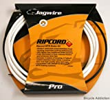 51SJzUDVVzL. SL160  Jagwire Ripcord DIY Brake Kit, White