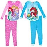 Komar Kids Girls Disney Cotton Pajamas (2 Piece)