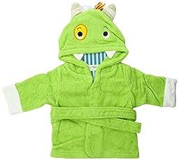 Baby Aspen Hooded Spa Robe, My Little Monster